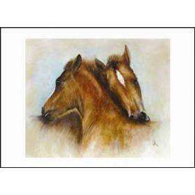 Diane Hennchen Two Foals