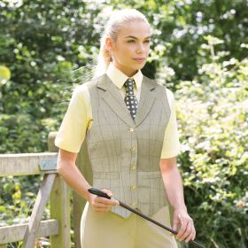 Equetech Foxbury Lapel Tweed Waistcoat