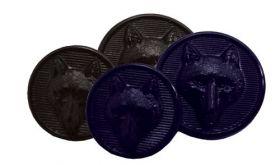 Equetech Foxhead Button Set
