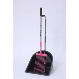 Fyna-lite Skip & Scoop Rake & Collector  Pink