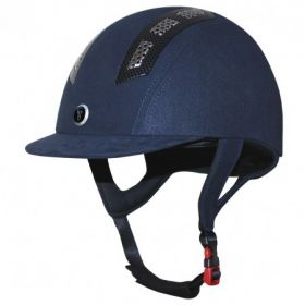 Gatehouse Chelsea Air Flow Pro Suedette Childs Sizes 52 to 55cm  Navy
