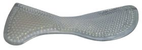 Acavallo Gel Pad and Front Riser  Black