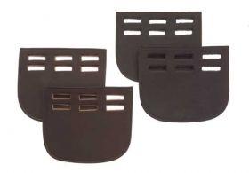 Heritage English Leather Girth Guard- Three Slot