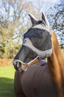 LeMieux Gladiator Full Fly Mask - Ears and Nose