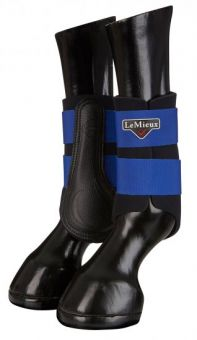 LeMieux Grafter Brushing Boots Benetton Blue