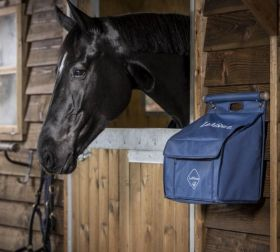 LeMieux Grooming Bag with Bar - Navy