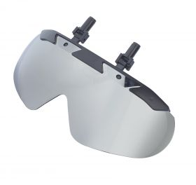 One K Clip in Sun Visor  Chrome - Mirrored