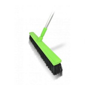 Harold Moore Stable and Yard Brush  Lime Green