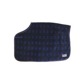 Kentucky Quarter Rug Heavy Fleece-Blue Check-Medium - Clearance - Kentucky Horsewear