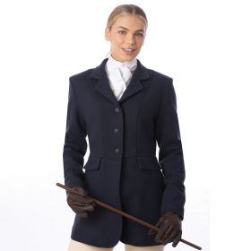 Equetech Ladies Hunt Wool Frock Coat Navy