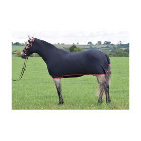 Belvoir Rug Company Honsie Max Black - Red