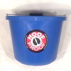 Hoof Proof Heavy Duty Multi Purpose Bucket 15ltr Blue