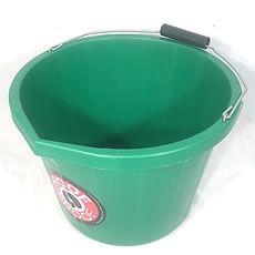 Hoof Proof Heavy Duty Multi Purpose Bucket 15ltr Green