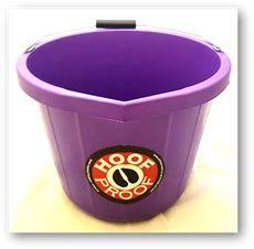 Hoof Proof Heavy Duty Multi Purpose Bucket 15ltr Purple