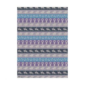 Deckled Edge Gift Wrap - For Horse Lovers - Deckled Edge