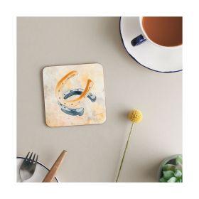 Deckled Edge Melamine Coasters - Horseshoes - Deckled Edge