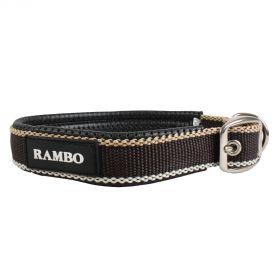 Horseware Rambo Dog Collar Whitney Chocolate