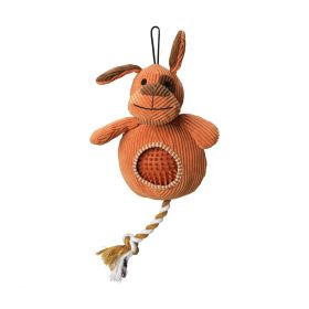 House of Paws Dog Cord Toy with Spiky Ball