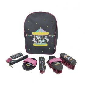 Merry Go Round Complete Grooming Kit Rucksack by Little Rider - HY