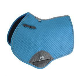 Hy Sport Active Close Contact Saddle Pad - Aegean Green
