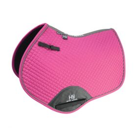 Hy Sport Active Close Contact Saddle Pad - Bubblegum Pink