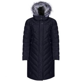 Equetech Inferno Long Quilted Coat (Heated) - Navy