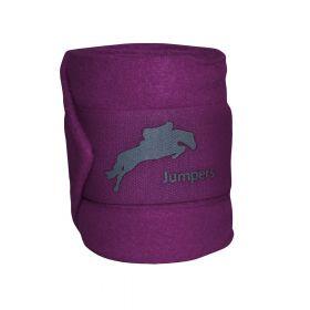 JHL Polo Bandages Purple
