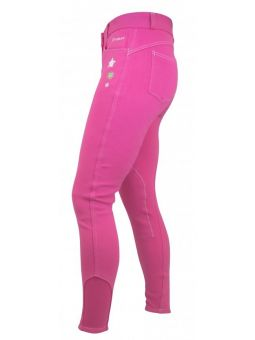 John Whitaker Kids Calder Breeches  Pink