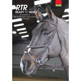 John Whitaker Ready to Ride Mexican Bridle BR055 Brown