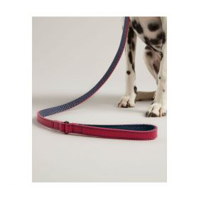 Joules Leather Dog Lead - Pink Clearance