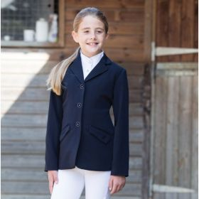 Equetech Junior Triumph Show Jacket - Black - 26 Chest - Clearance