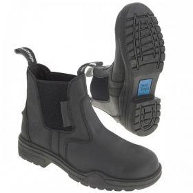 Just Togs Hampton Protective Jodhpur Boot Black