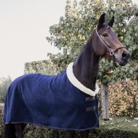 Kentucky Horsewear Fleece Show Rug Heavy - Navy