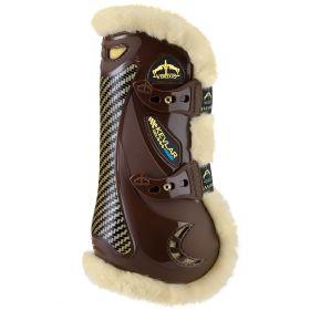 Veredus Kevlar Gel Vento Save The Sheep Front Tendon Boots - Large - Brown