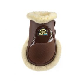 Veredus Kevlar Gel Vento Save The Sheep Rear Fetlock Boots Brown