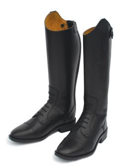 Rhinegold Young Rider Berlin Long Leather Riding Boot