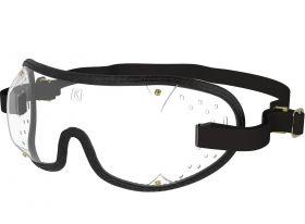 Kroops Racing Goggles - Clear Lens  Black