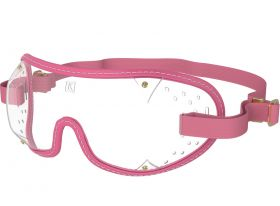 Kroops Racing Goggles - Clear Lens  Pink