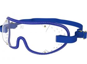 Kroops Racing Goggles - Clear Lens  Royal Blue