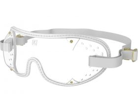 Kroops Racing Goggles - Clear Lens  White