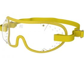 Kroops Racing Goggles - Clear Lens  Yellow