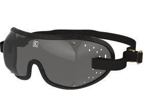 Kroops Racing Goggles - Smoked Lens  Black