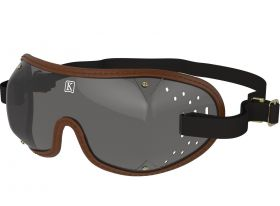 Kroops Racing Goggles - Smoked Lens  Brown