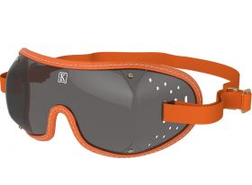 Kroops Racing Goggles - Smoked Lens  Orange
