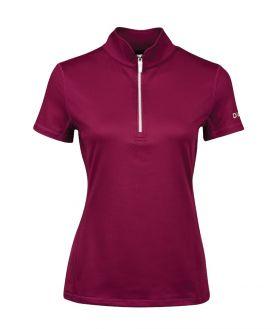 Dublin Kylee Short Sleeve Shirt II Deep Crimson Red - Dublin