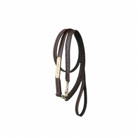 Kentucky Horsewear Leather Covered Chain Lead