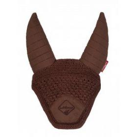 LeMieux Acoustic Ears Fly Hood  Brown