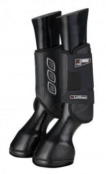 LeMieux Carbon Air XC Boots Black Front