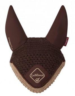 LeMieux Classic Acoustic Ears Fly Hood  Brown