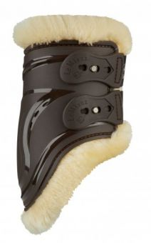 LeMieux Comfort Impact Responsive Fetlock Boots  Brown